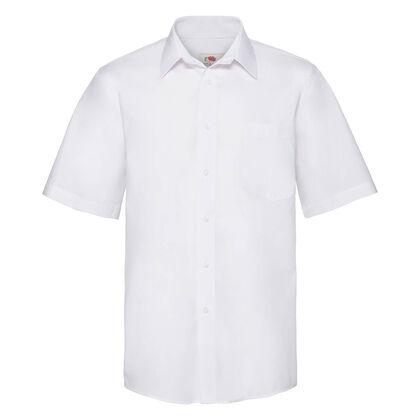 Елегантна мъжка риза в бяло С36-2