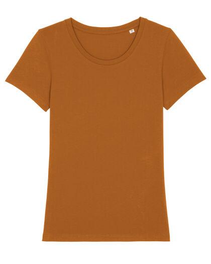 Дамска тениска в тъмно оранжево С2318-2