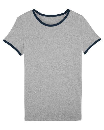 Дамска тениска с контрастен кант С1971-2