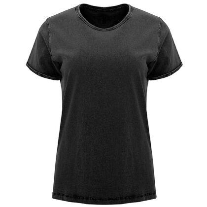 Ефектна дамска тениска в черно С1769-2