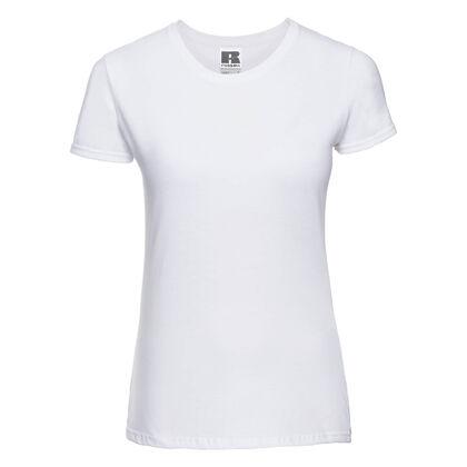 Дамска бяла тениска на ниска цена С437-2