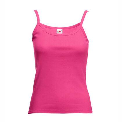 Розов дамски потник с тънки презрамки С53-3