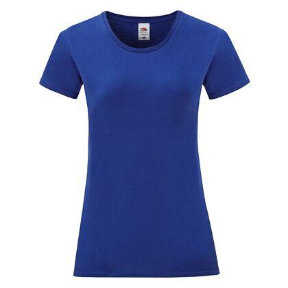 Дамска тениска в кобалтово синьо С1756-11