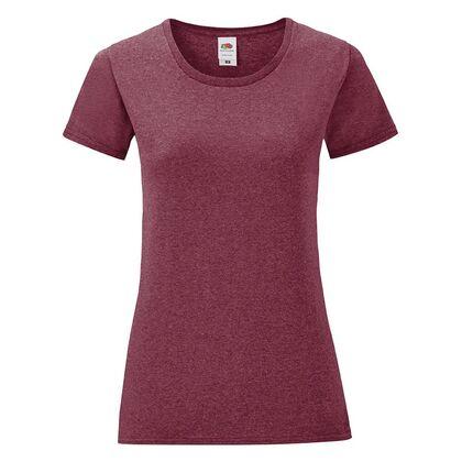 Дамска тениска в меланжиран цвят С1756-15
