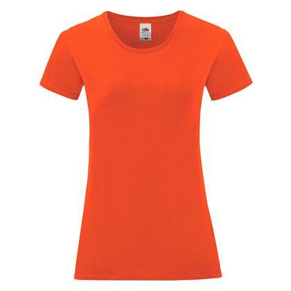 Дамска тениска в цвят пламък С1756-18
