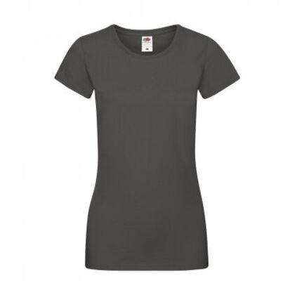 Супер мека тениска за жени в цвят графит С525-4
