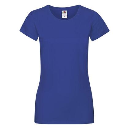 Синя дамска тениска за лятото С525-7