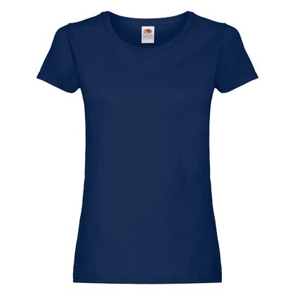 Ежедневна дамска тениска в тъмно синьо С75-4