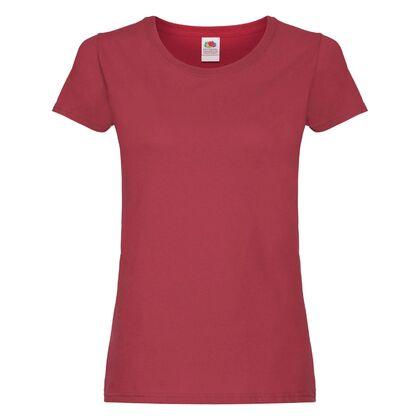 Ежедневна дамска тениска в цвят бордо С75-15