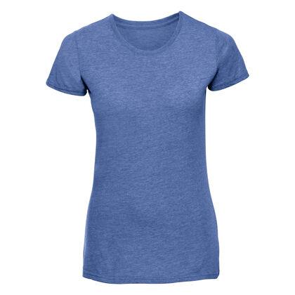 Синя дамска блуза с къс ръкав С466-3