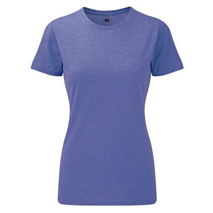 Дамска блуза в лилав меланж С466-7