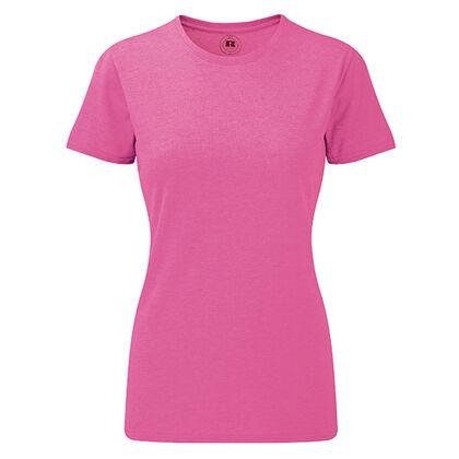 Дамска блуза в розов меланж С466-8