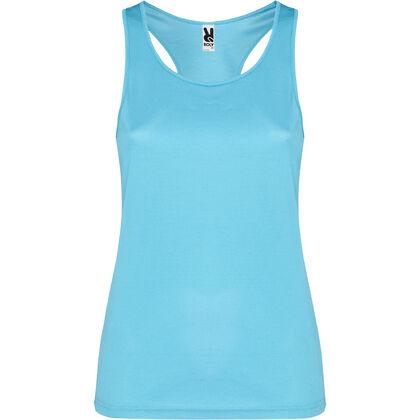 Спортен дамски потник в светло синьо С578-5