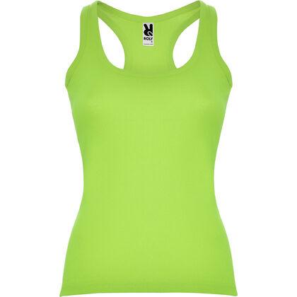 Плътен дамски потник в светло зелено С660-7