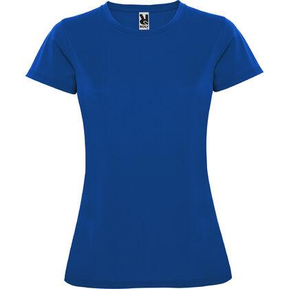 Синя дамска тениска от дишаща материя С274-6