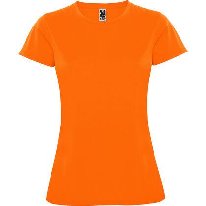 Дамска тениска в неонов цвят С274-8