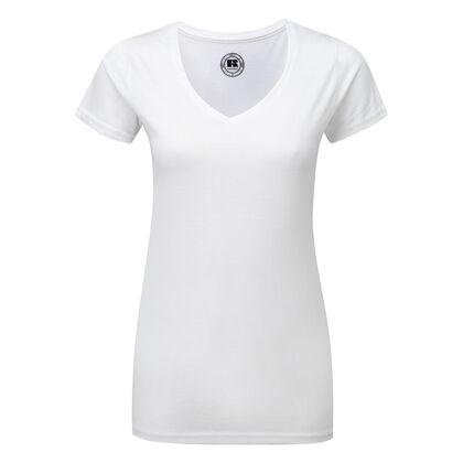 Дамска бяла блуза еластична С66-2