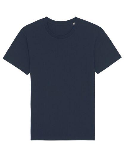 Тениска от органичен памук в синьо С1995-4