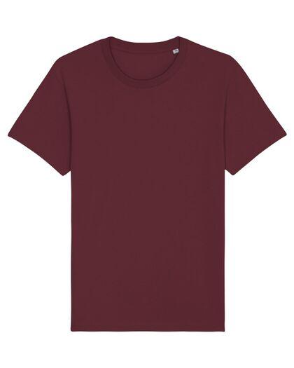 Унисекс тениска в цвят бургунди С1995-8