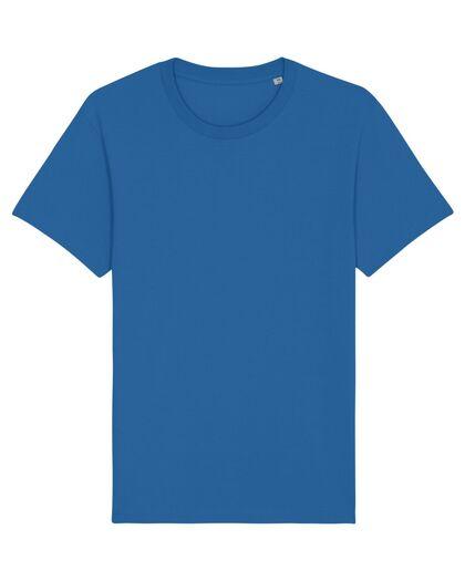 Унисекс памучна тениска в синьо С1995-9