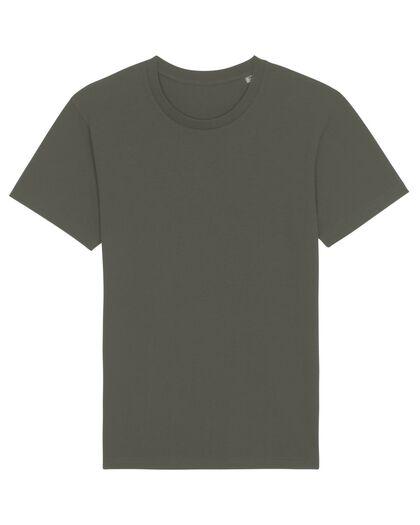 Тениска от органичен памук в цвят олива С1995-12