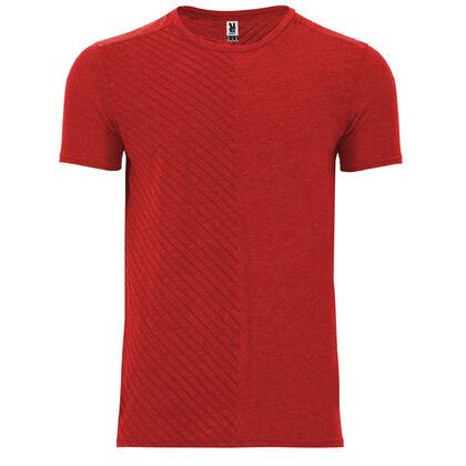 Мъжка тениска нов модел в червено С1767-2