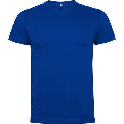 Синя мъжка тениска от чист памук С1167-2