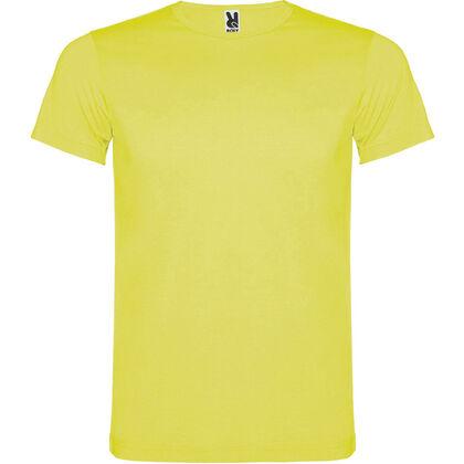 Мъжка тениска в неоново жълто С1154-2
