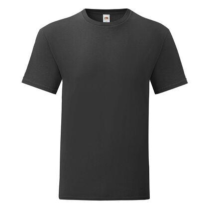 Удобна мъжка тениска в черно С1755-5