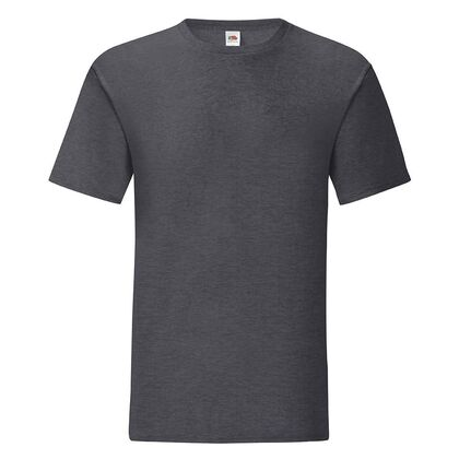 Мъжка тениска в тъмно сив меланж С1755-10