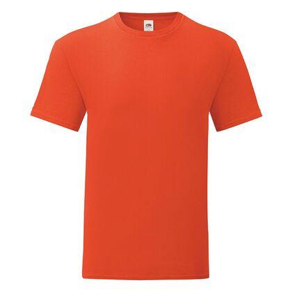 Мъжка тениска в цвят пламък С1755-12