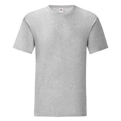 Мъжка тениска в светло сиво С1755-13