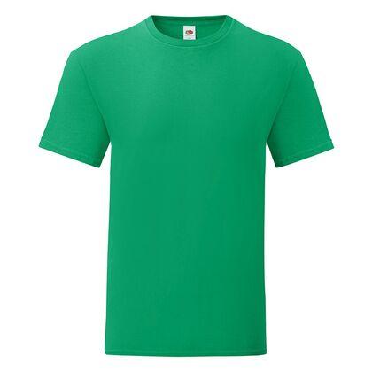 Зелена мъжка тениска от памук С1755-19