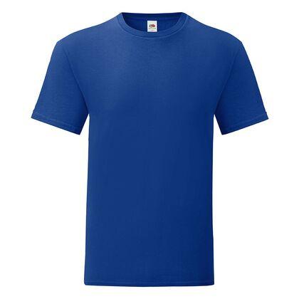 Мъжка тениска в цвят кобалтово синьо С1755-22
