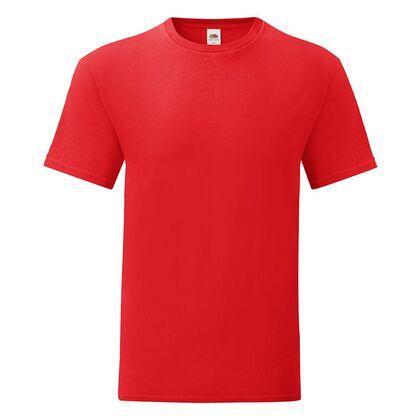 Червена тениска за всекидневие С1755-23