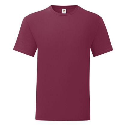Тениска за мъже в цвят бургунди С1755-24