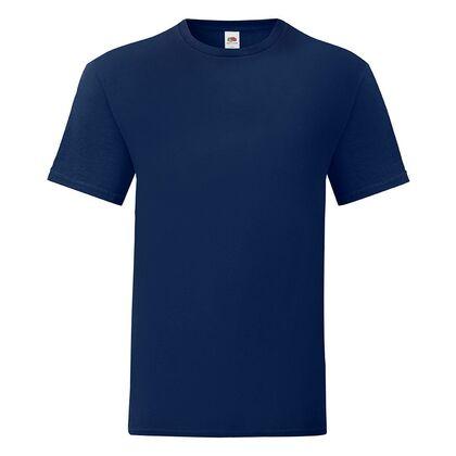 Мъжка тениска в тъмно синьо С1755-25