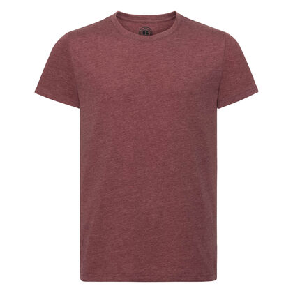 Мъжка тениска в цвят бордо С465-2