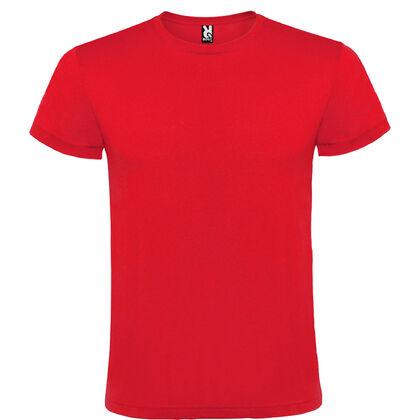 Червена мъжка тениска за лятото С1165-3