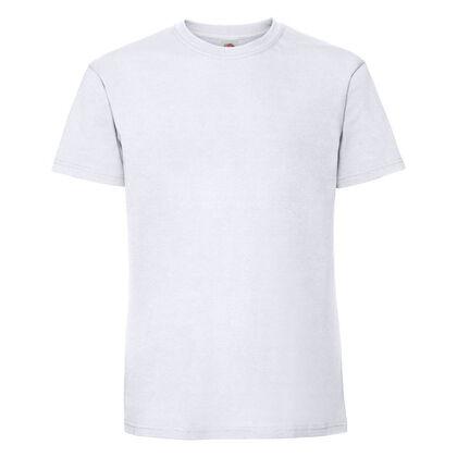 Супер мека тениска в бяло С586-2