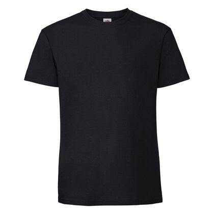 Супер мека тениска в черно С586-3