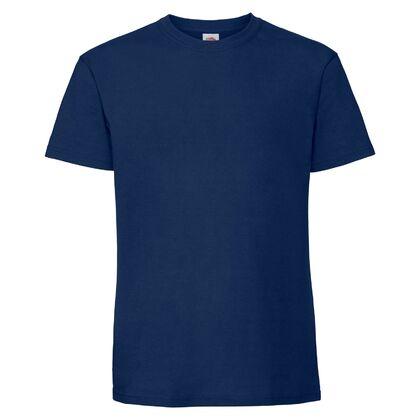 Супер мека тениска в тъмно синьо С586-6