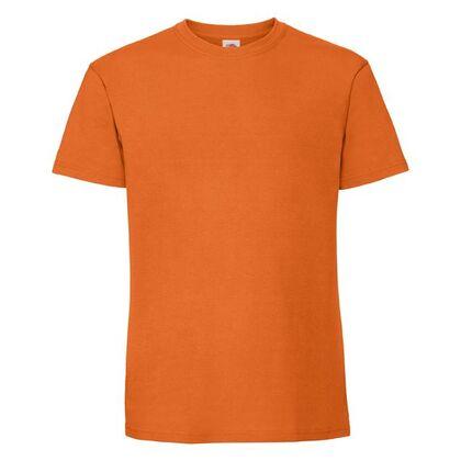 Супер мека тениска в оранжево С586-7