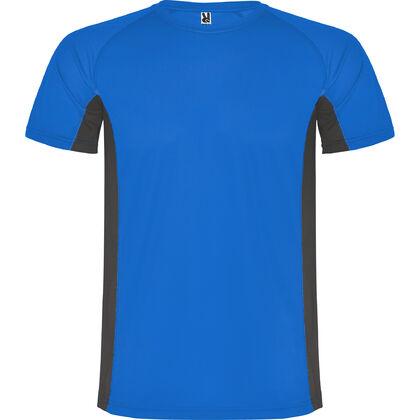Синя тениска от дишащ полиестер С1175-5