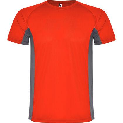 Червена тениска от дишащ полиестер С1175-6