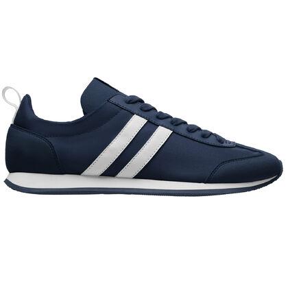 Дамски маратонки в тъмно синьо В2616Д-7