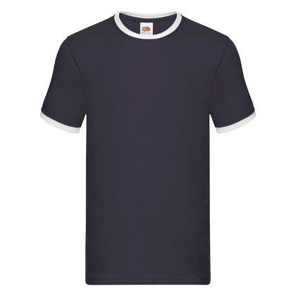 Мъжка тениска в тъмно синьо С24-2