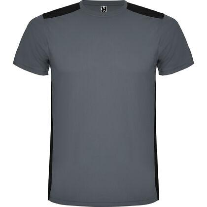 Сива мъжка спортна тениска от полиестер С1480-5