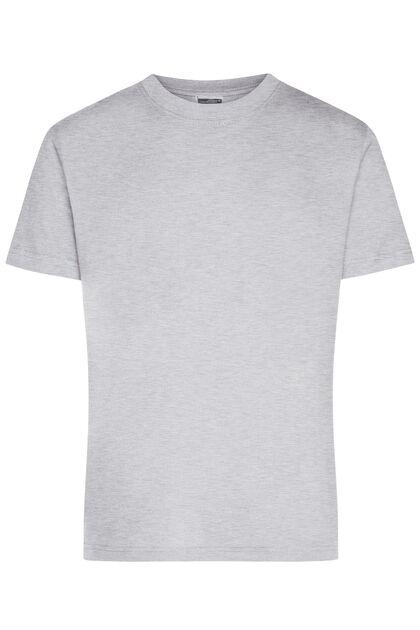 Мъжка класическа тениска в сиво С637-2