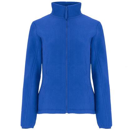Дамско поларено яке в синьо С2329-2